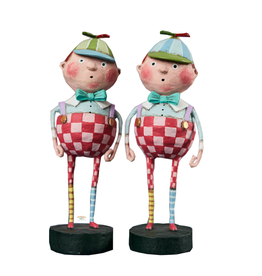Lori Mitchell Tweedle Dee & Tweedle Dum Set