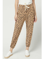 Entro Camel and Black Lounge Pants