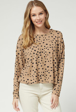 Entro Camel and Black Top
