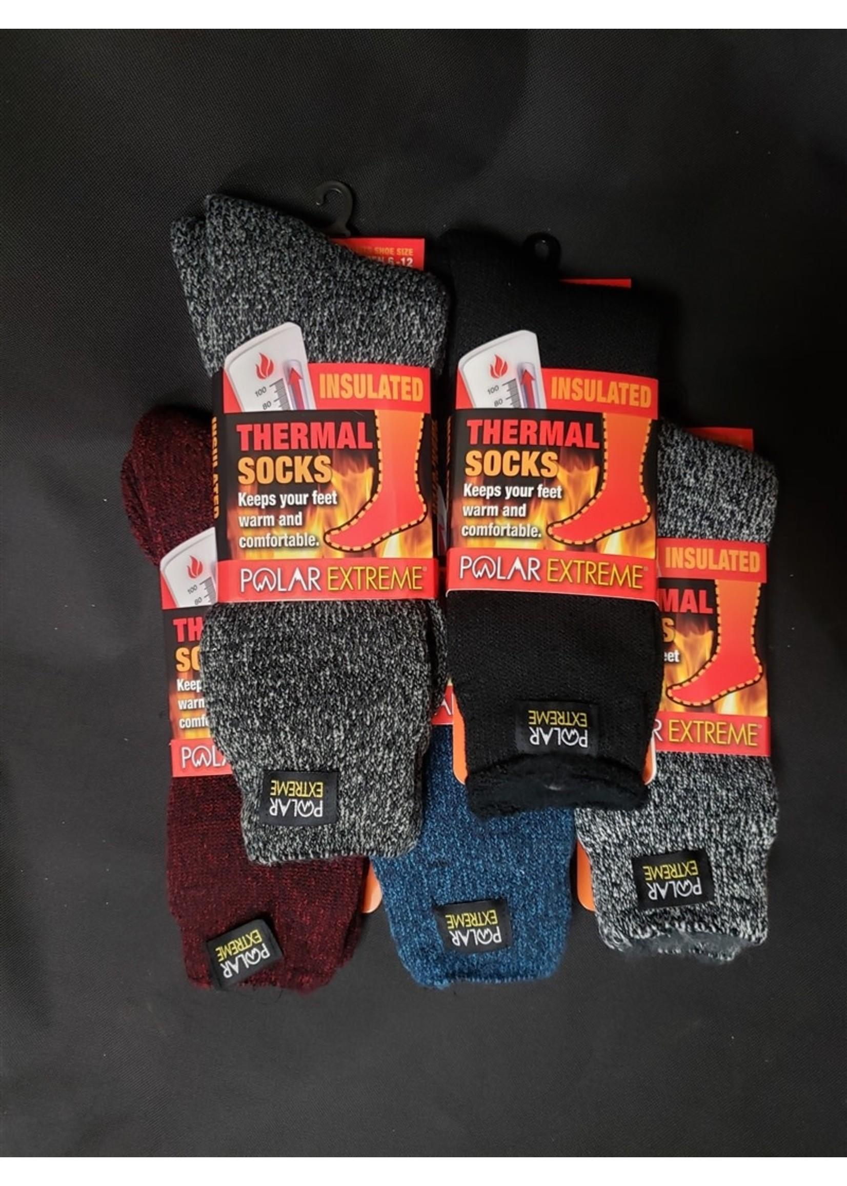 Polar Extreme Polar Extreme Heat Brushed Sock