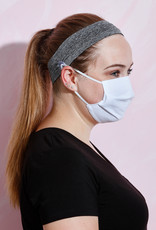 Button Headband for Mask