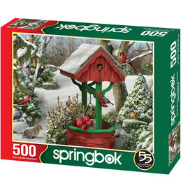 Springbok Winter Wish Puzzle 500