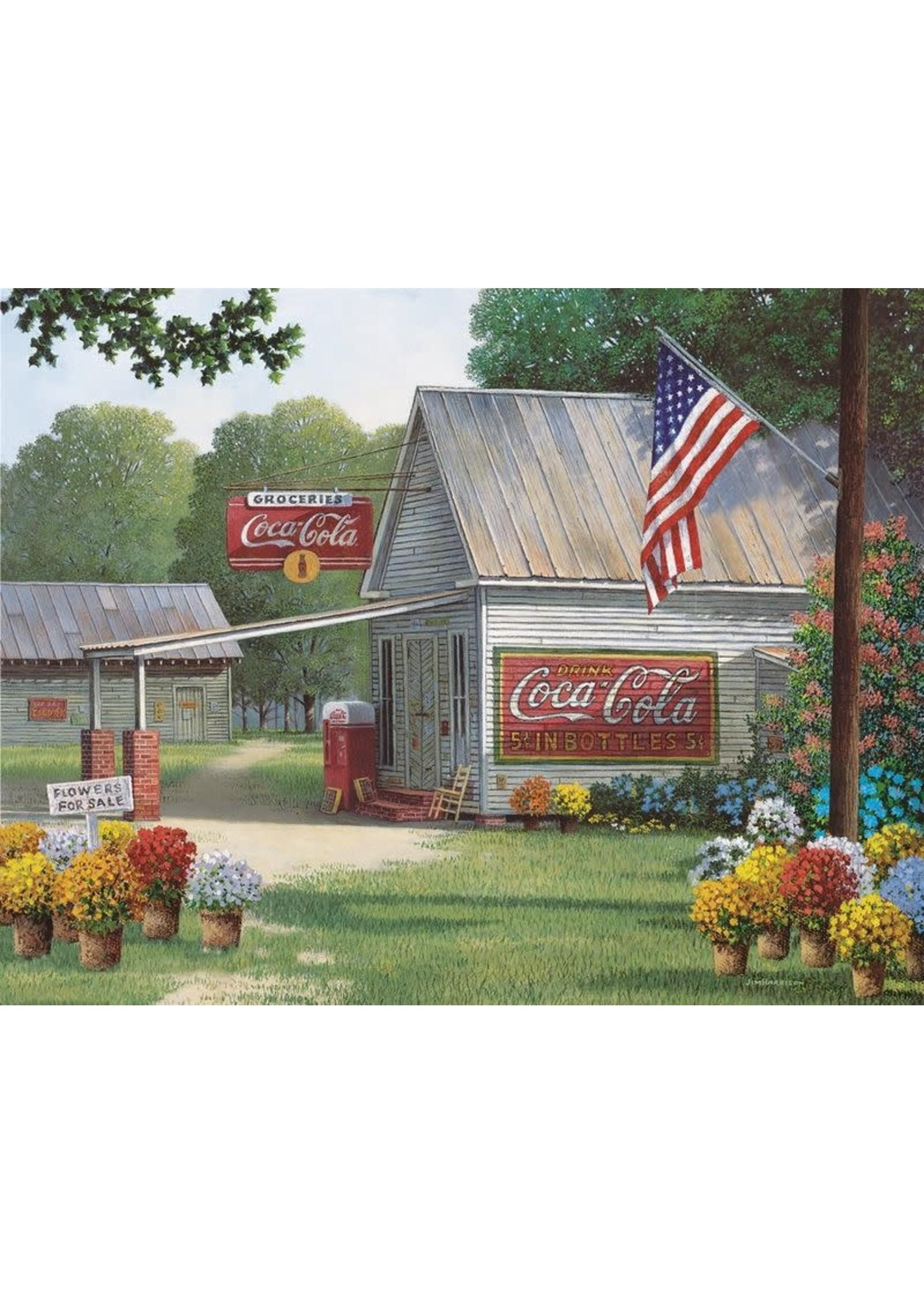 Springbok Coca Cola Country General Store Puzzle 500