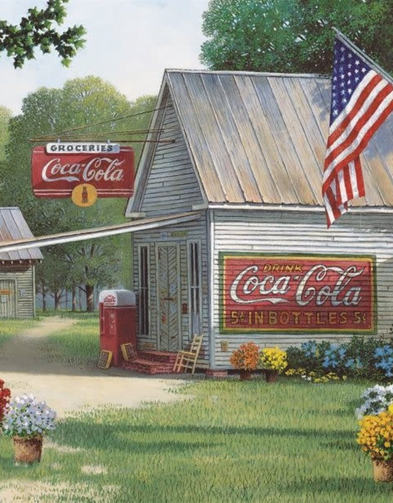 Springbok Coca Cola Country General Store Puzzle 500