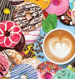 Springbok Donuts 'N Coffee Puzzle 500