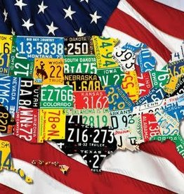 Springbok States Plates Puzzle 1000