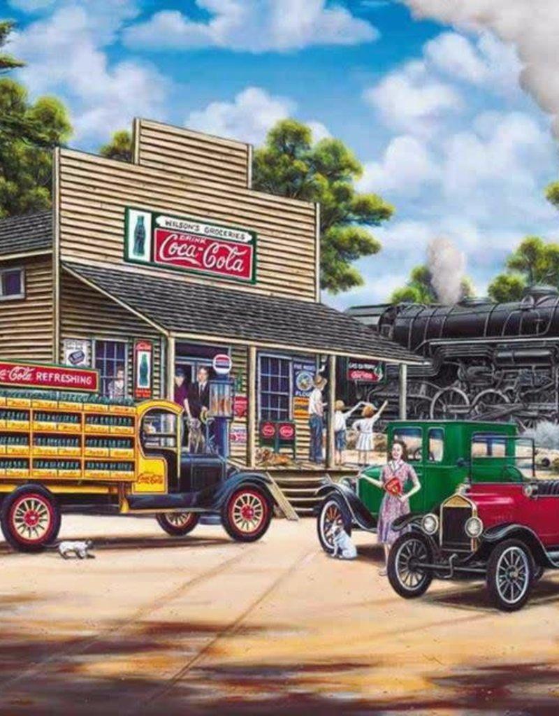 Springbok Coca Cola All Aboard Puzzle