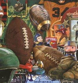 Springbok Vintage Football Puzzle 1000