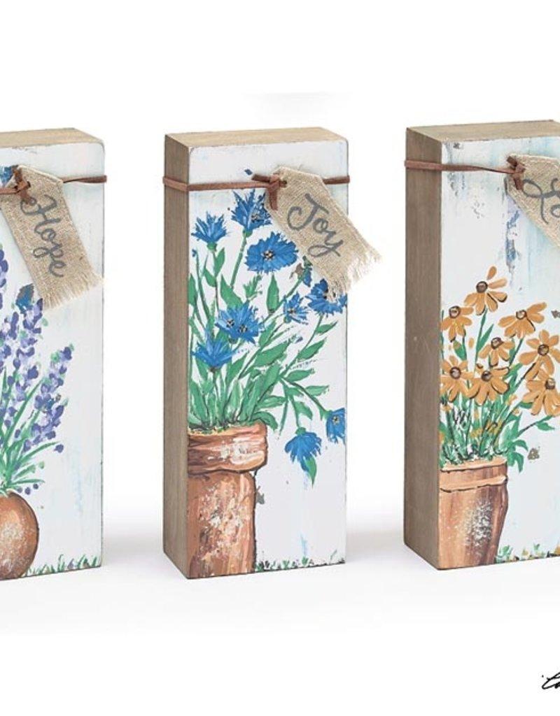 Burton and Burton Shelf Sitter Wildflowers