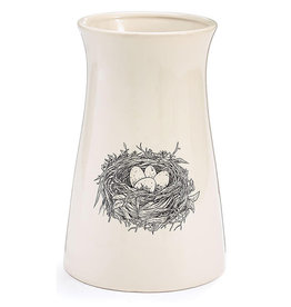 Burton + Burton Sketched Nest Ceramic Vase