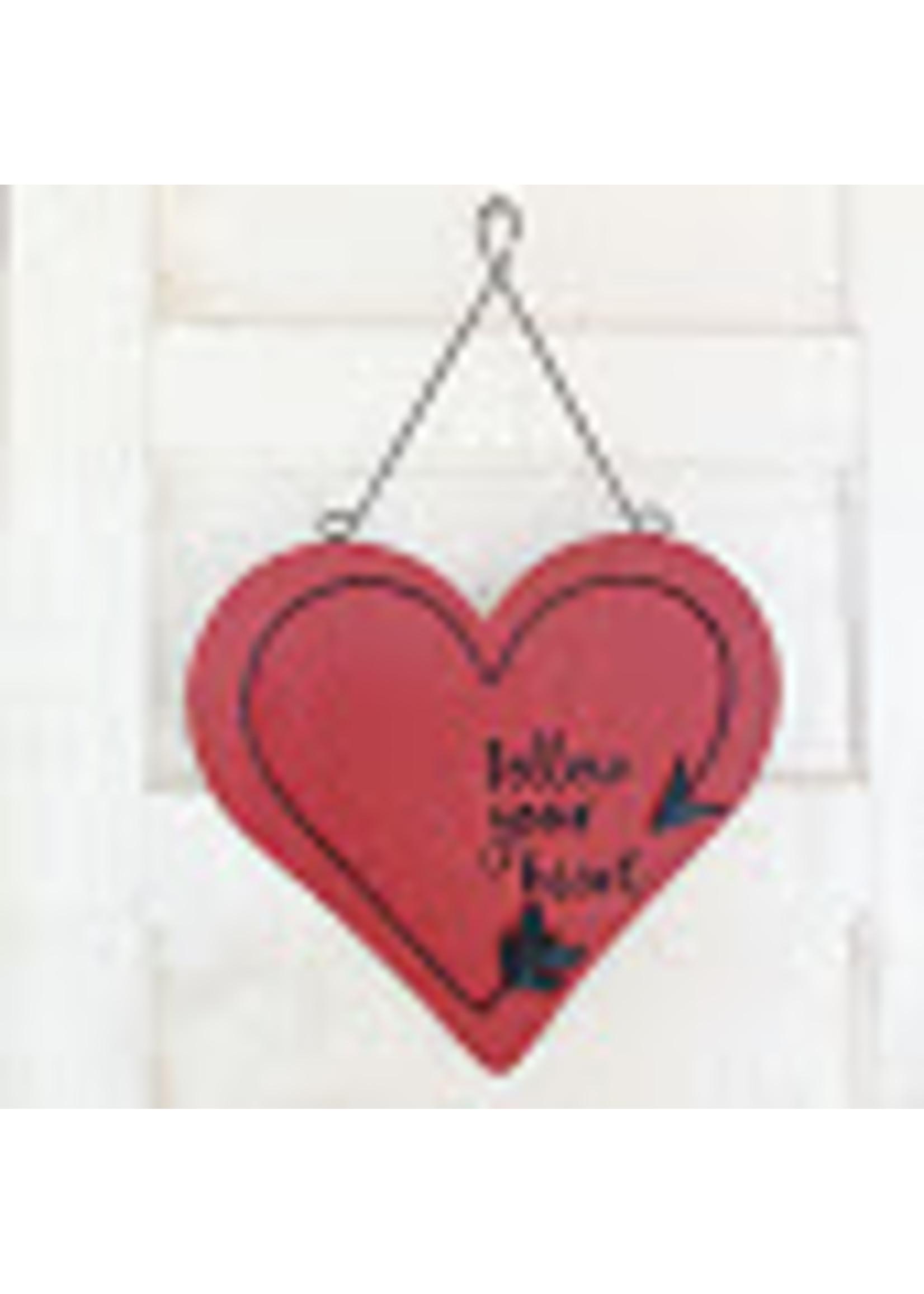 Burton + Burton Wall Hanging Follow Your Heart
