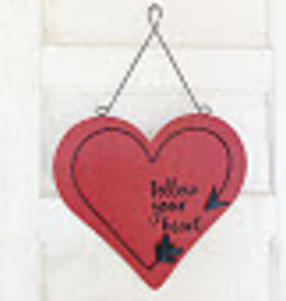 Burton + Burton Wall Hanging Follow Your Heart