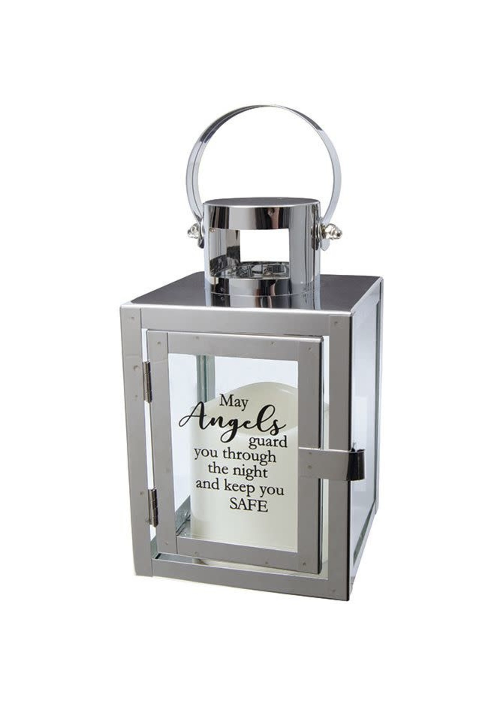 Carson Home Accents Lantern - Angels/Safe