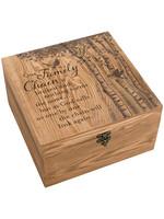"Carson Home Accents ""Family Chain"" Keepsake Memory Box"