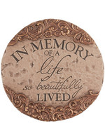 "Carson Home Accents Garden Stone - ""In Memory"""