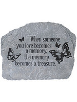 "Carson Home Accents Garden Stone - ""Becomes A Memory"""