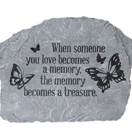 "Carson Home Accents Garden Stone - ""Becomes A Memory"""