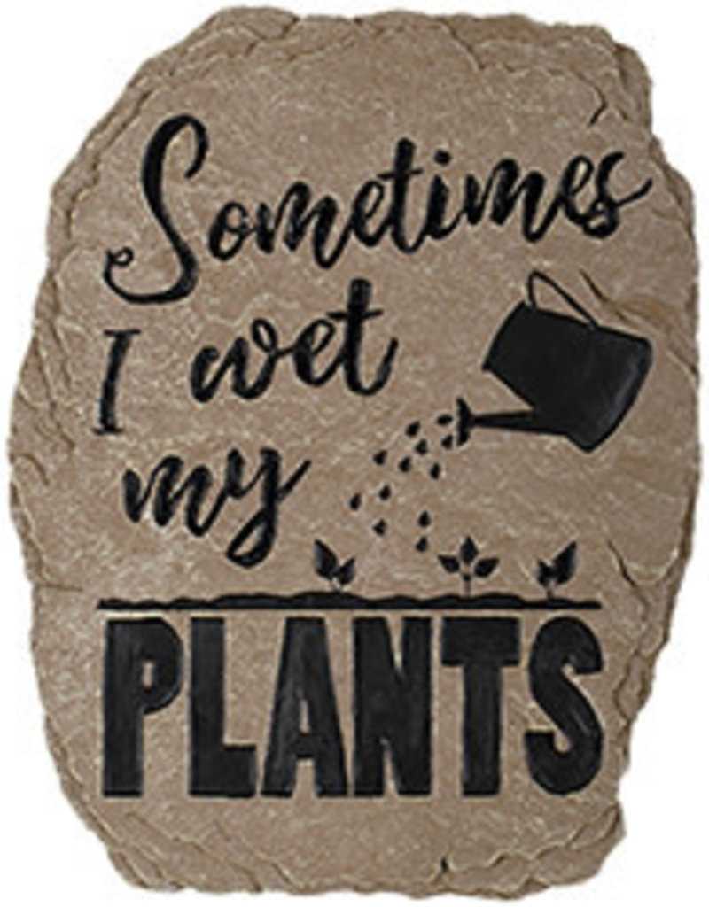 Carson Home Accents Garden Stone - Wet My Plants