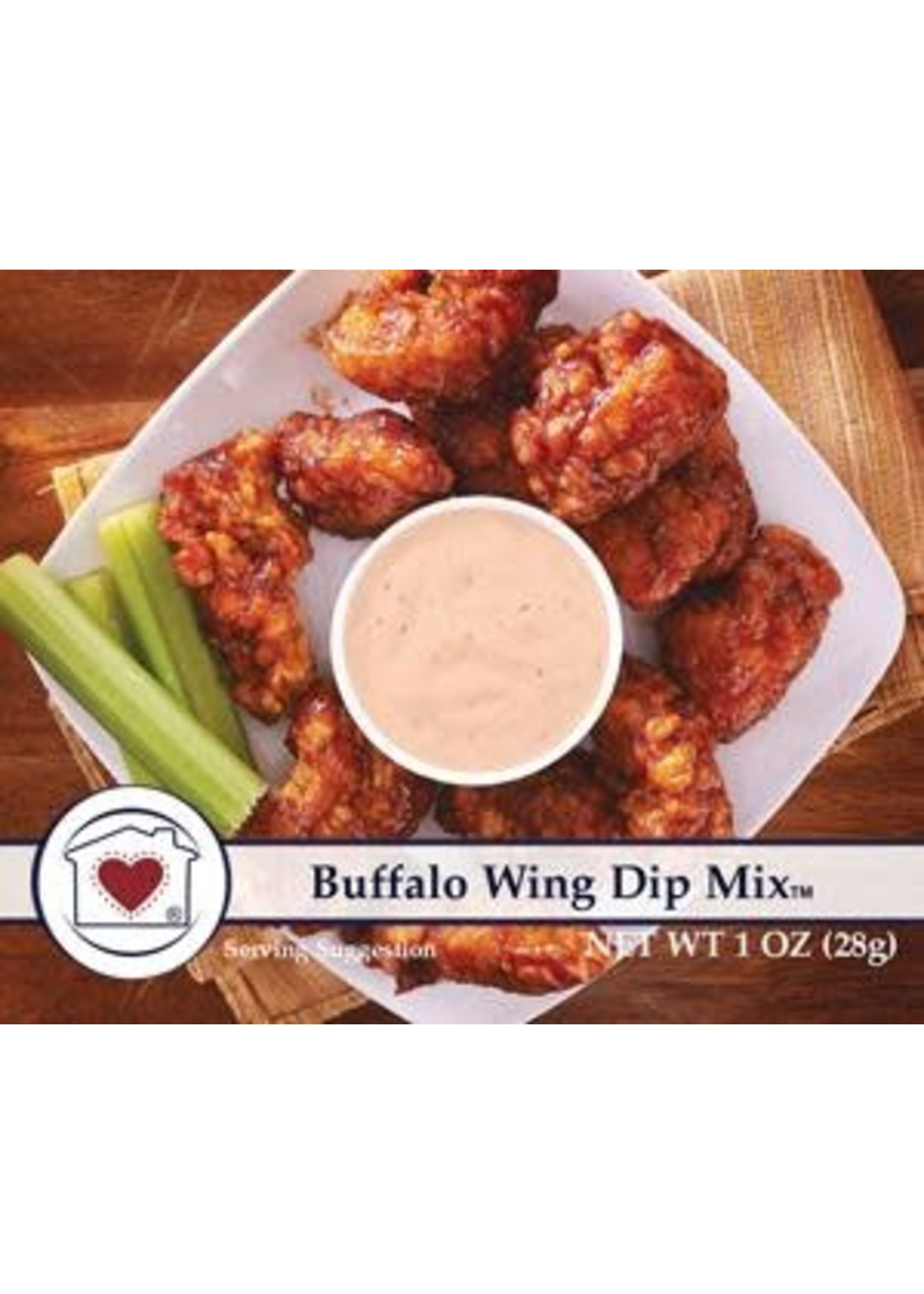Country Home Creations Buffalo Wing Dip Mix
