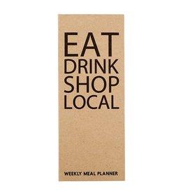 Tablesugar Eat Local Shopping List Pad