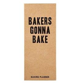 Tablesugar Baker's Gonna Bake Planner