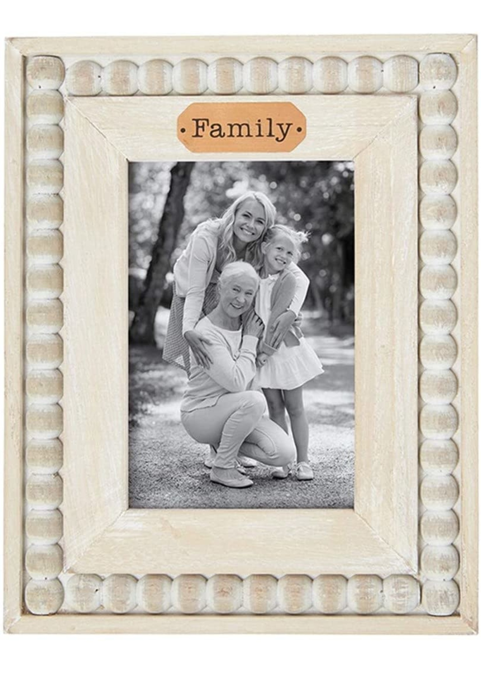"""Carson Home Accents """"Beaded Family"""" Frame"""