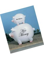 Young's His Money/Her Money Pig Bank