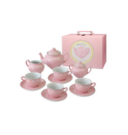 Bright Stripes Porcelain Tea Set
