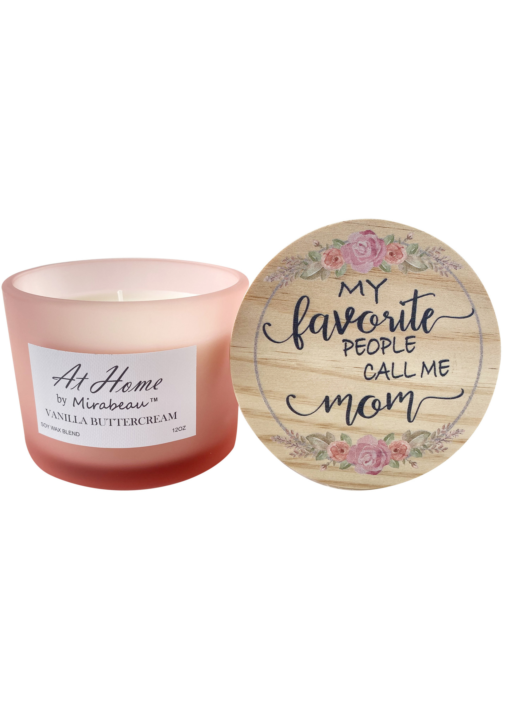 At Home by Mirabeau 12 oz Candle