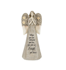 Carson Home Accents Luminous Garden Figurine - Angel