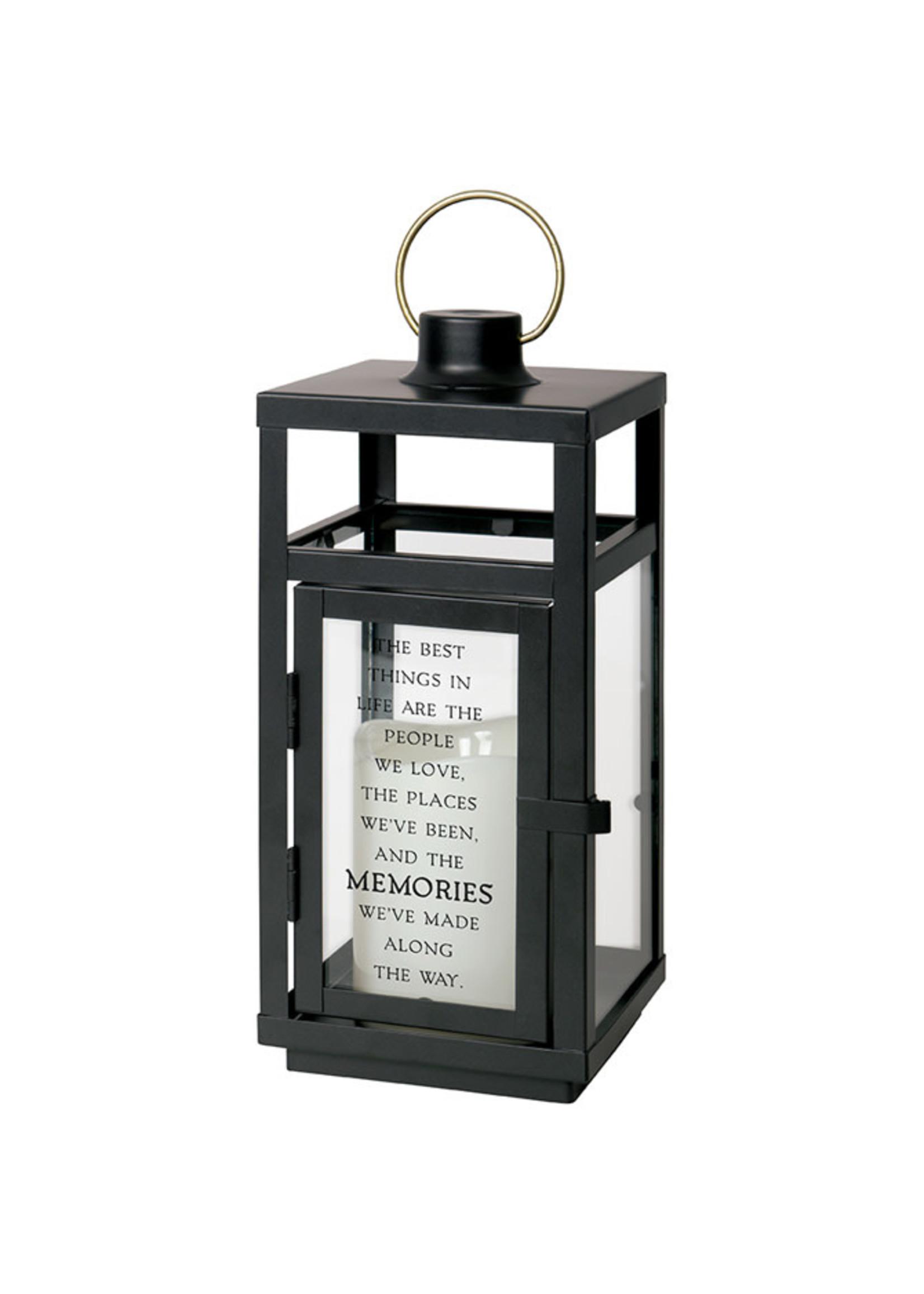 "Carson Home Accents Memories 10"" Metal Lantern"