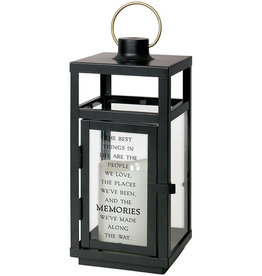 "Carson Home Accents Memories 10"" Metal Lantern"