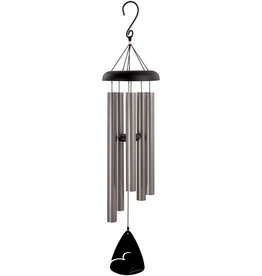 Carson Home Accents Pewter Fleck Windchime