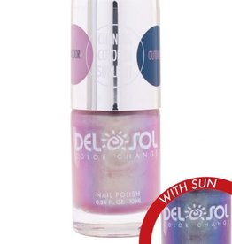 Del Sol Color Changing Nail Polish