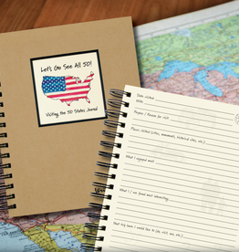 Journals Unlimited Let's Go See All 50 States Journal