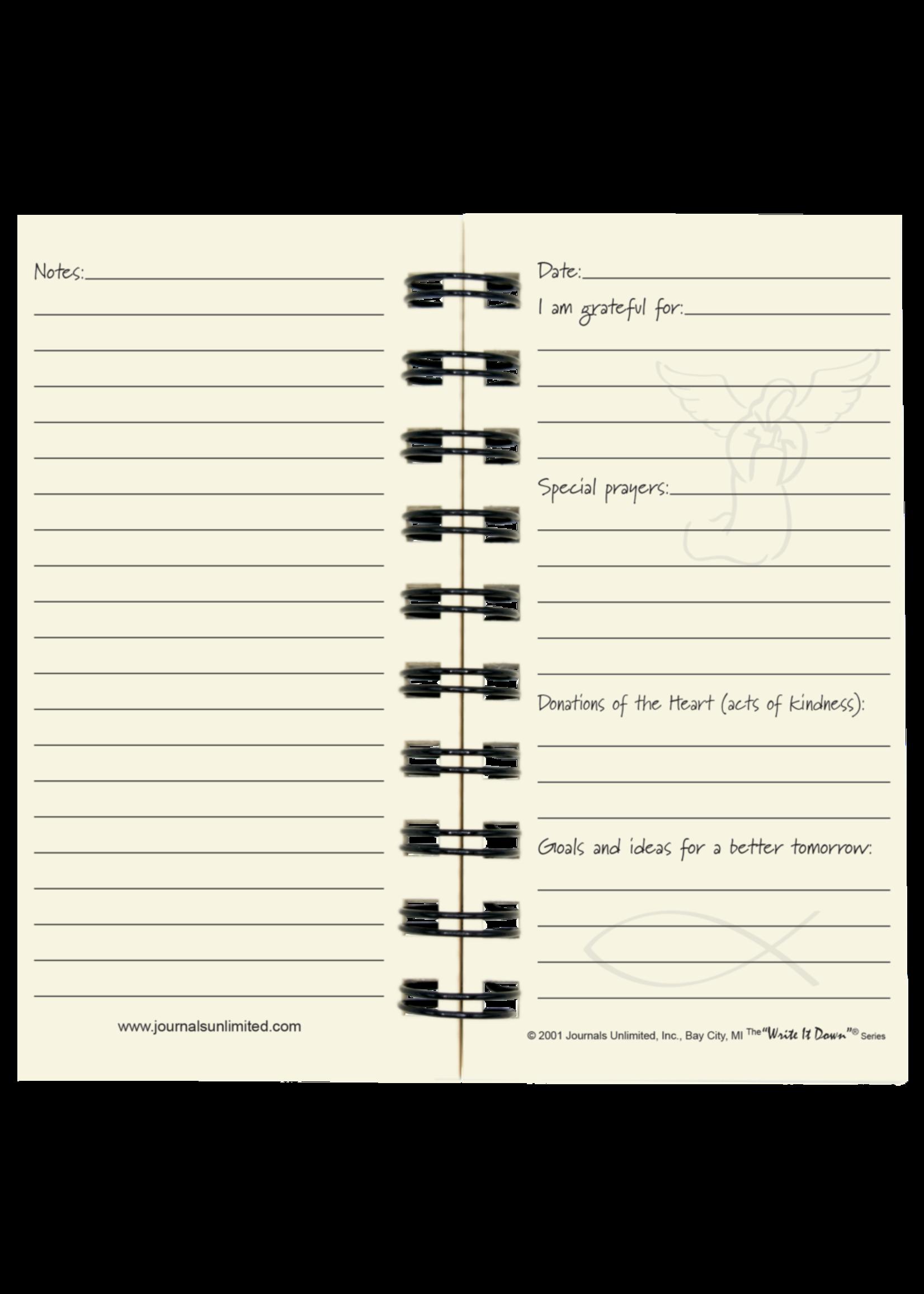 "Journals Unlimited Mini - Daily Devotions ""Prayer"" Journal"