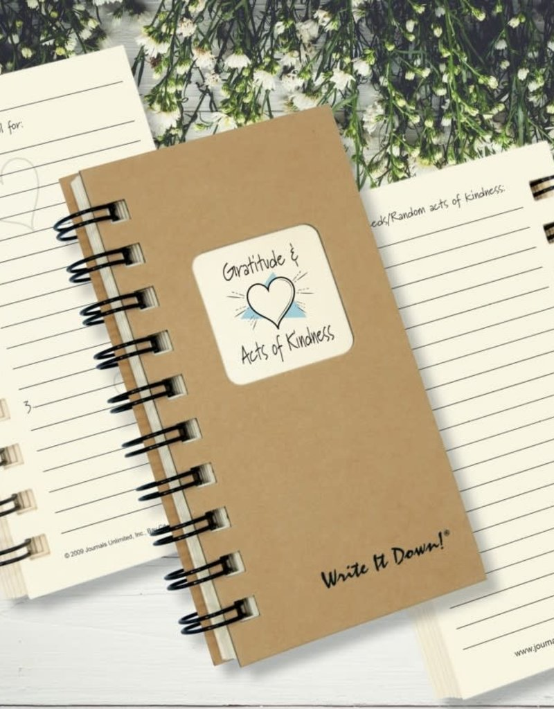 Journals Unlimited Mini - Gratitude & Acts of Kindess Journal