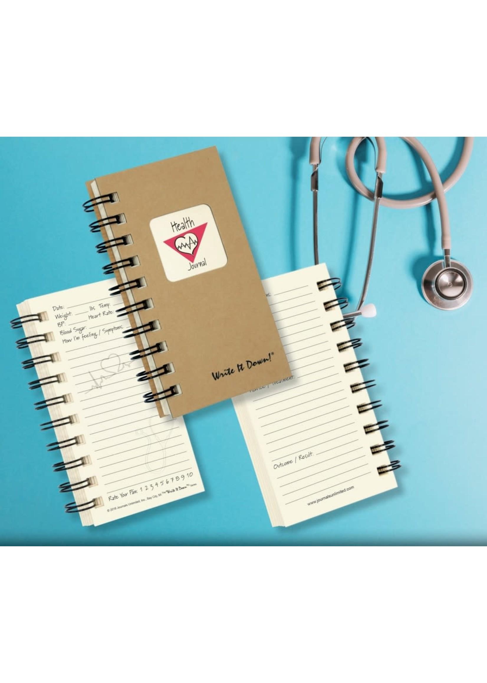Journals Unlimited Mini - Health Journal