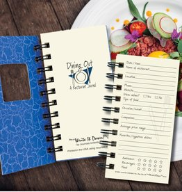 Journals Unlimited Mini - Dining Out - Blue