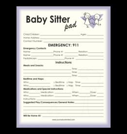 Journals Unlimited Babysitter Notepad
