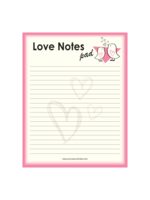 Journals Unlimited Love Notes Pad