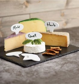 Maison du Fromage Cheese Marker with Pen, Set of 6