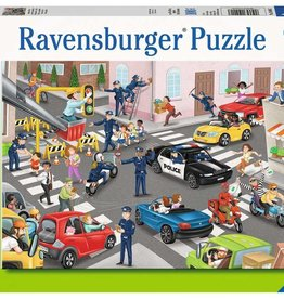 Ravensburger Police on Patrol 100 Piece Puzzle