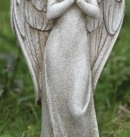 Roman Praying Angel Statue