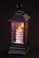 Roman Black Memorial Lantern