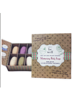 Simply Be Well Set of 6 Exfoliating 2oz bars Gift Boxed