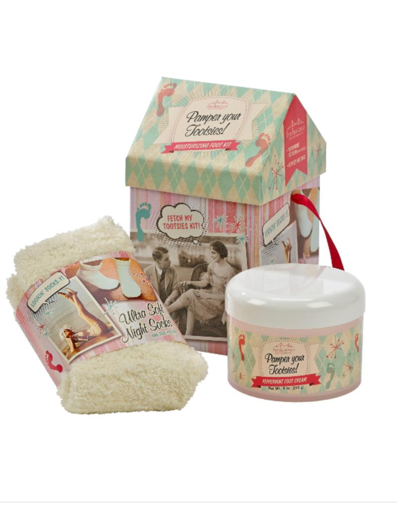 San Francisco Soap Company Foot Care Kit - Peppermint