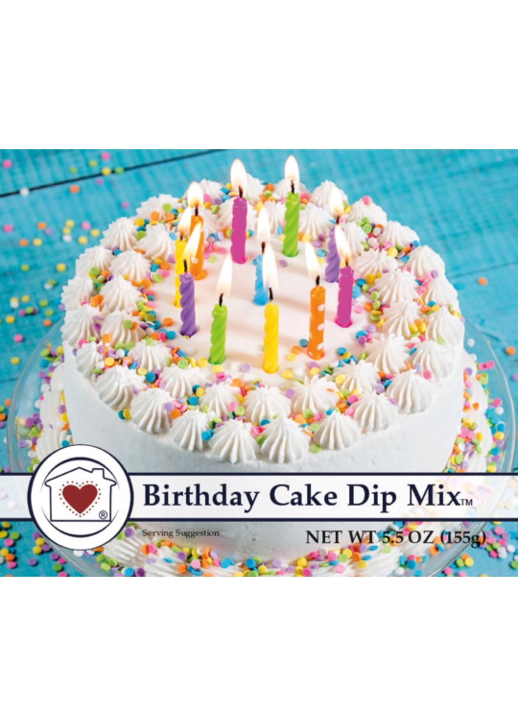 Country Home Creations Birthday Cake Dip Mix