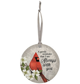 """Carson Home Accents """"Always With You"""" Ornament"""