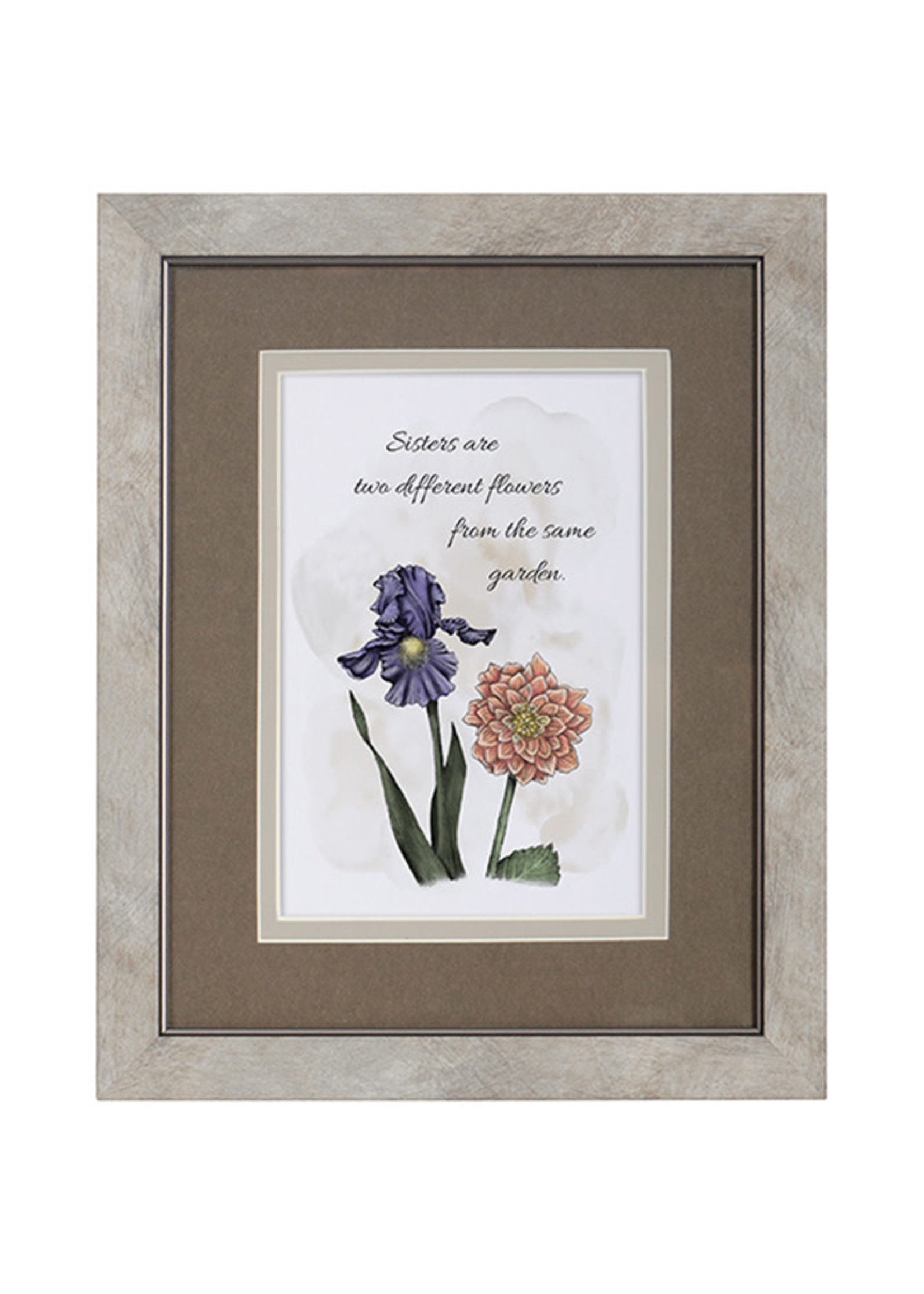 """Carson Home Accents """"Sisters"""" Framed Blessing"""